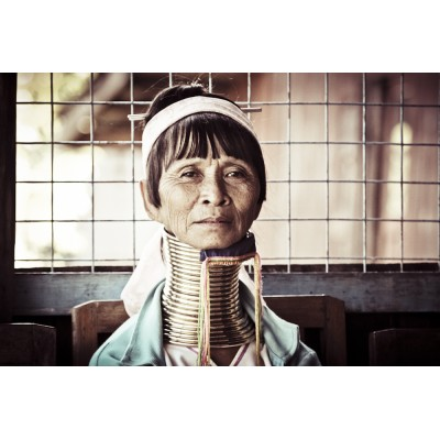 BIRMANIE - Femme Padaung - 06