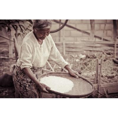 BIRMANIE - Femme du village...