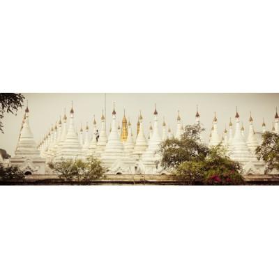 BIRMANIE - Stupas de la...