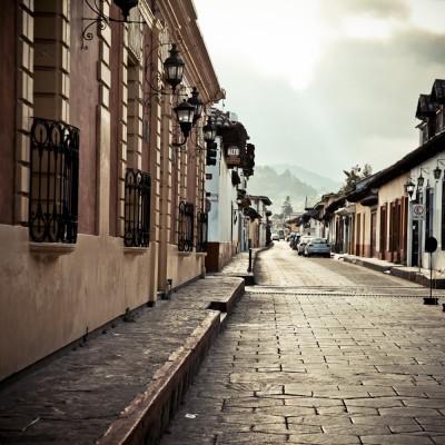 MEXIQUE - Rue de San...