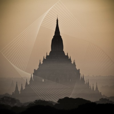 BIRMANIE - Temple de Bagan...