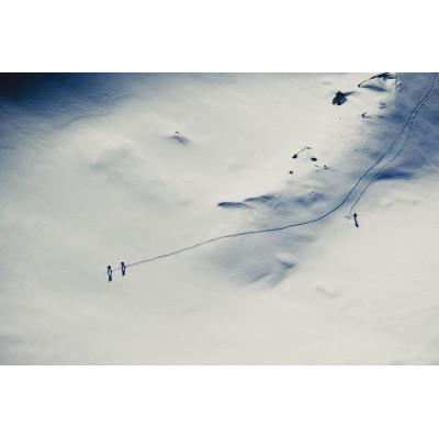 CHAMONIX - Skieurs sur le...