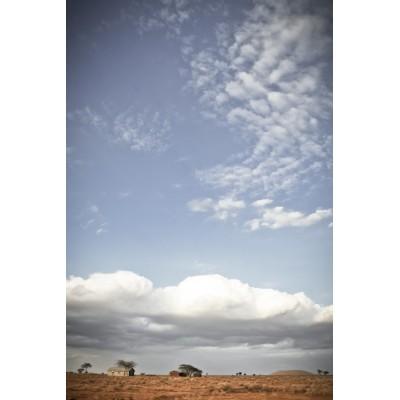 KENYA - Paysage du sud du...