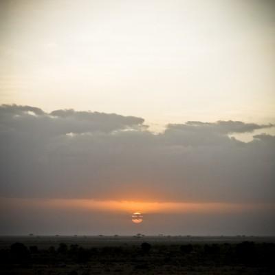 KENYA - Couché de soleil...