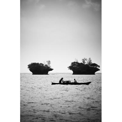 KENYA - Pêcheurs et Île de...