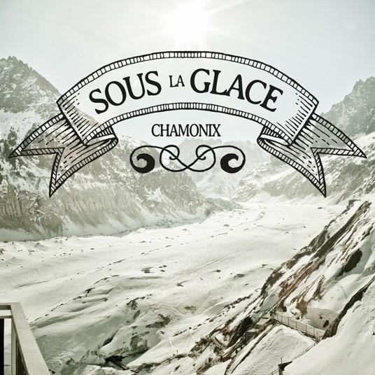 """Série """"Sous la Glace"""". Chamonix - La mer de glace"""