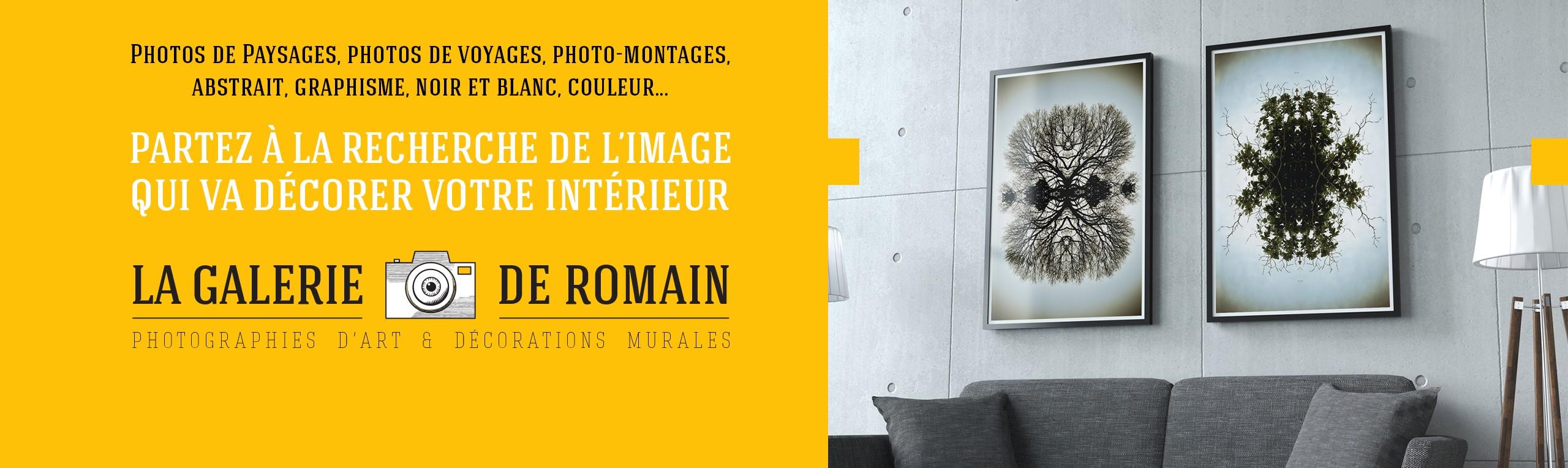 Photos de Paysages, photos de voyages, photo-montages, abstrait, graphisme, noir et blanc, couleur... Partez à la recherche de l'image qui va décorer votre intérieur